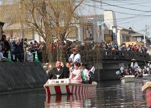 琴奨菊 柳川パレード